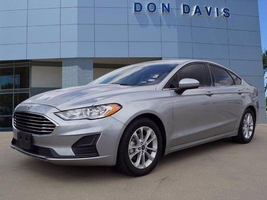Don Davis Ford >> 2020 Ford Fusion Se